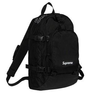 Supreme Fall 2019 Black Cordura Nylon Backpack